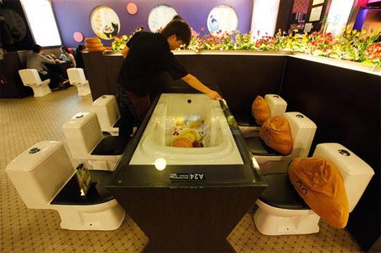 Toilet Restaurant - Restaurante banheiro