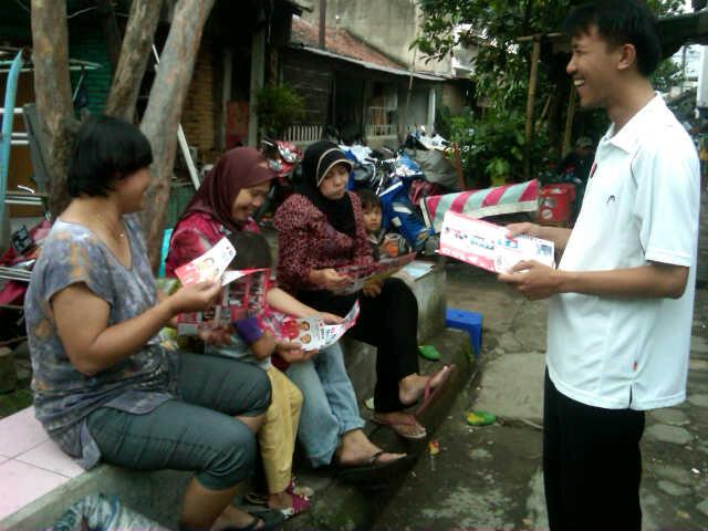 Direct selling Relawan PKS Ridwan Kamil Oded MD