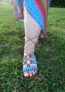 Blue Sandals from Simply Be