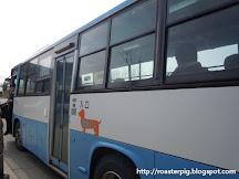 鳥取砂丘搭乘巴士遊記
