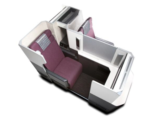 JAL new business class seats - SKY SUITE