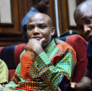 Biafra: It's time to pull Nnamdi Kanu back to penitentiary, abandon key in Atlantic Ocean – Presidency