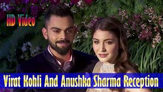 Cricketer Virat Kohli & Anushka Sharma Reception