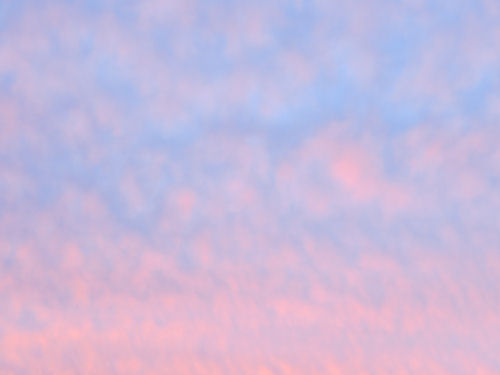 pink and blue cloud pattern