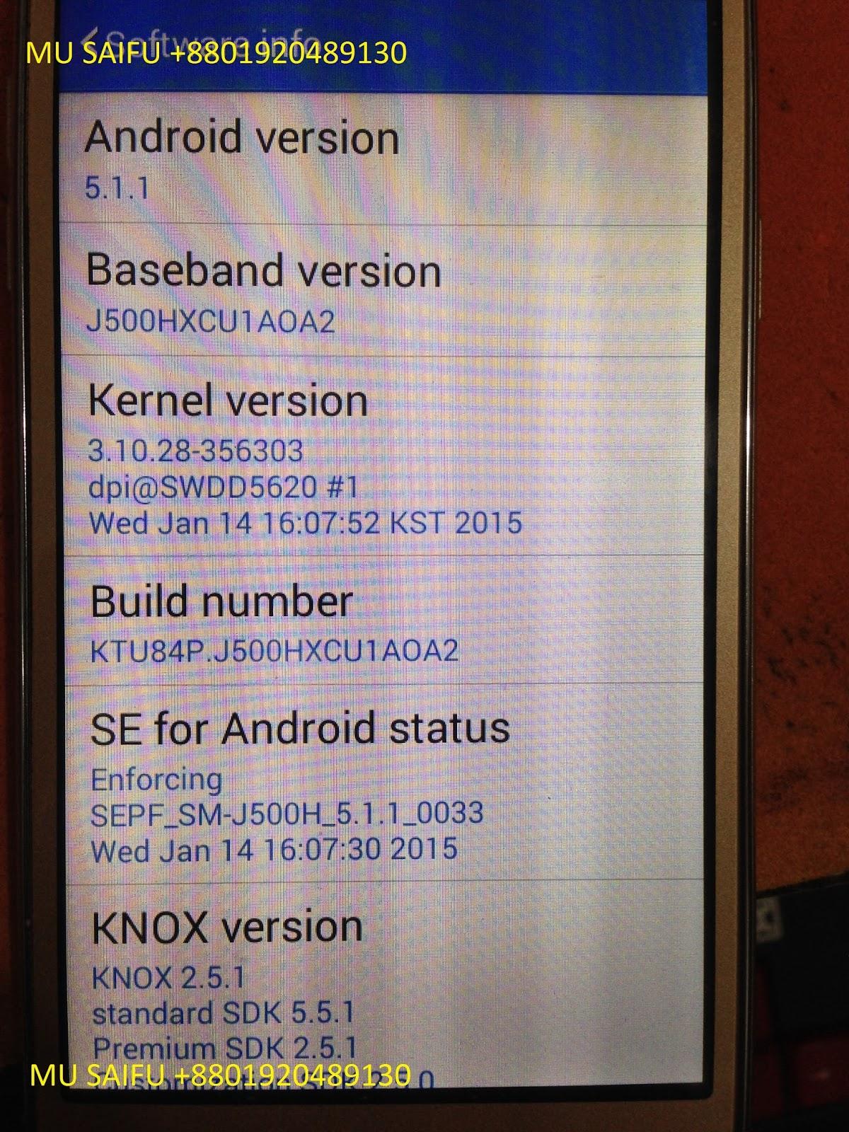 Samsung J500H Clone Flash File Firmware   SAMSUNG FRP LOCK & SAMSUNG
