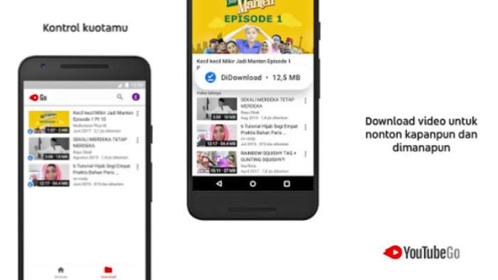 3 Trik Nonton Video di Aplikasi Youtube Go Tanpa Kuota Internet