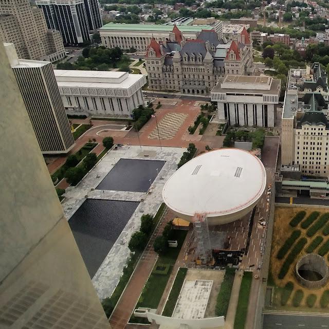 Empire State Plaza. Foto: Jorge Bela