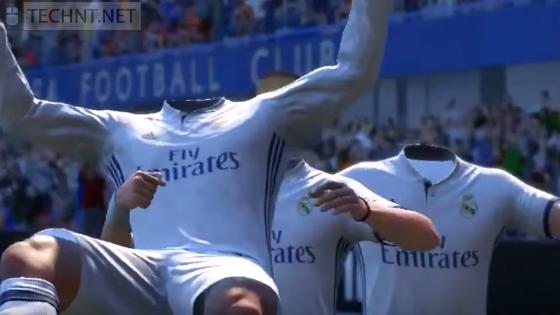 بالصور... إكتشف على أغرب الأخطاء الموجودة في لعبة FIFA 17 بالجملة ريال مدريد كريستيانو رونالدو - التقنية نت - technt.net