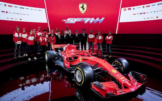 Ferrari F1 SF71H 2018