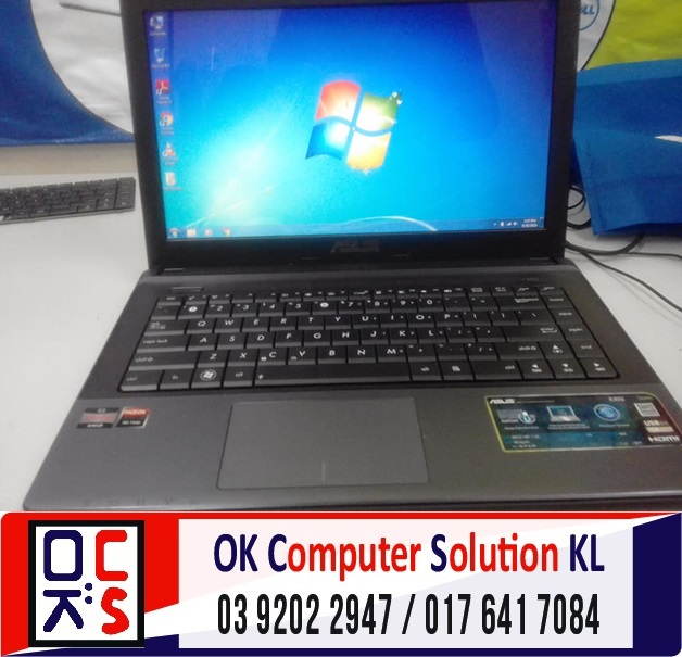 [SOLVED] FORMAT & BACKUP ASUS X45U | REPAIR ASUS CHERAS 2