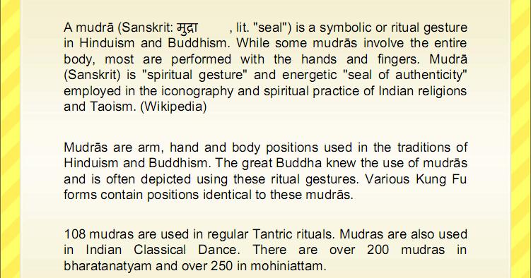 Karthi's Corner     : Ten Healing Mudras