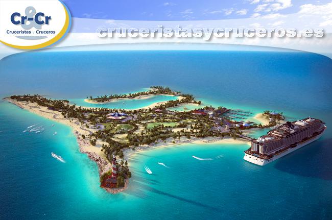 ► MSC Cruceros y la reserva marina Ocean Cay