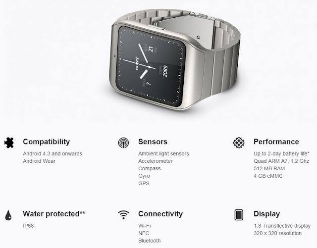 8ceefb94689 SmartWatch 3 comes in a range of stunning designs. Choose classic stainless  steal chain-link
