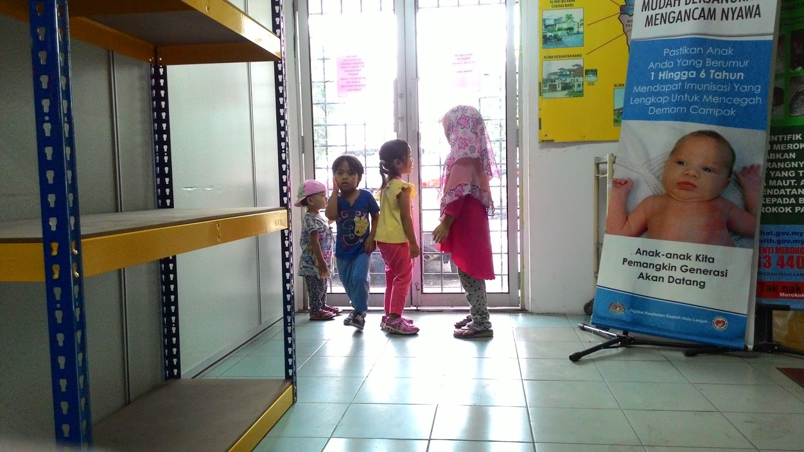 FARIZA HAPPY IKUT MOMMY PERGI CHECK UP
