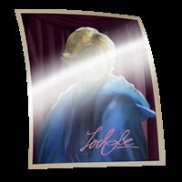 Fotografia autografata di Gilderoy Lockhart: Sei ora l'orgoglioso possessore di una fotografia autografata di Gilderoy Lockhart.