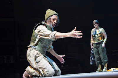Monteverdi: The Return of Ulysses - Roderick Williams, Catherine Carby - Royal Opera at the Roundhouse ((c) ROH & Roundhouse, photo Stephen Cummiskey)