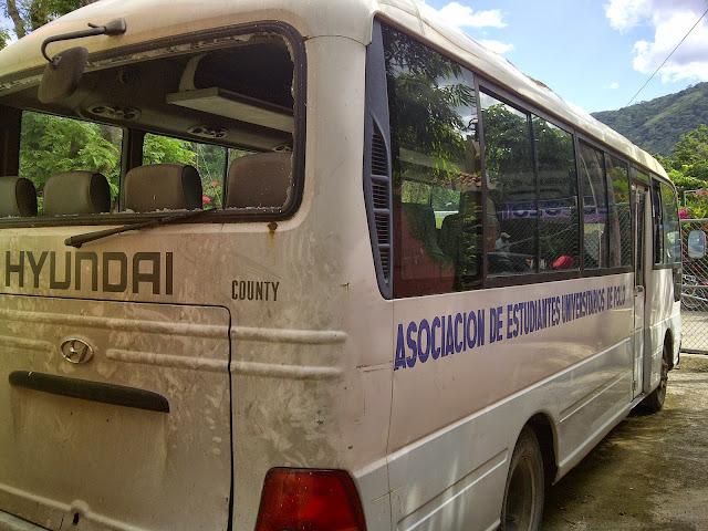 Resultado de imagen para aseupolo minibus estudiantil