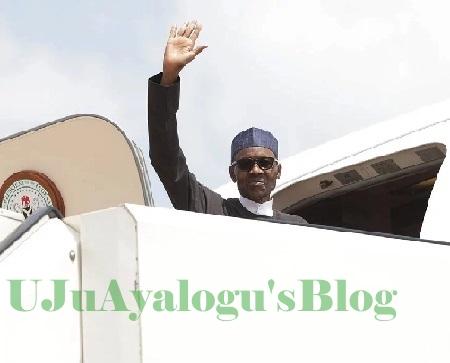 President Buhari Leaves Nigeria For United Kingdom (Watch Video)