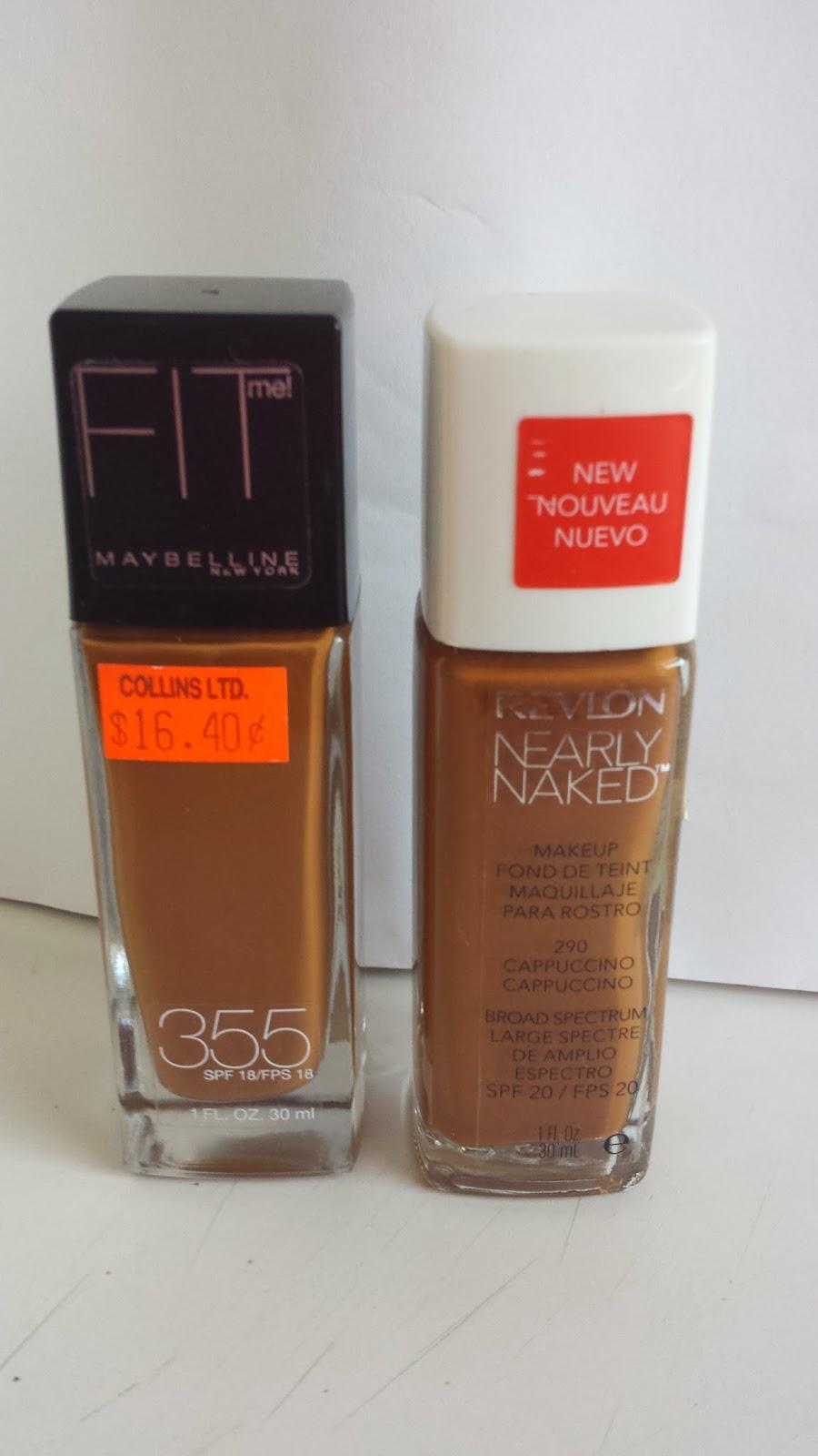 My Foundations: Revlon Nearly Naked