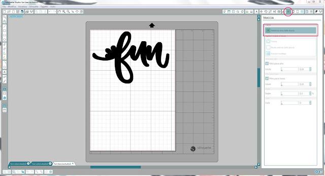 Come utilizzare singoli file .png nella modalità Print & Cut | Silhouette Cameo step5