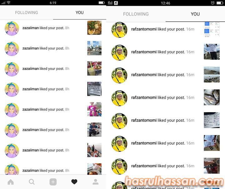 Tips Diserbu Kaki Like Instagram
