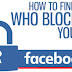 How to Know Blocked On Facebook