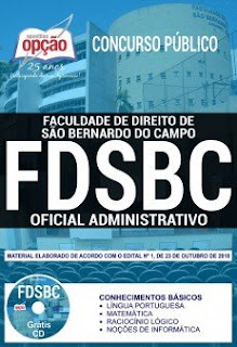 Download Apostila Concurso FDSBC 2018 PDF