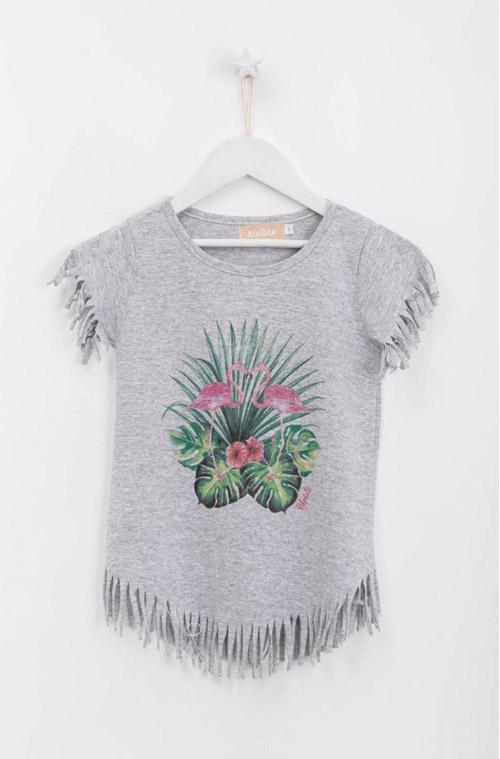 Remeras para nenas moda verano 2018.