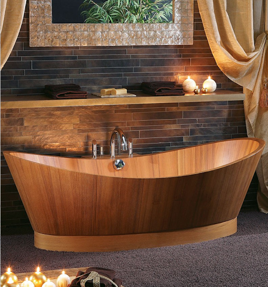 We'd Like to Float This Idea By You: Wooden Tubs