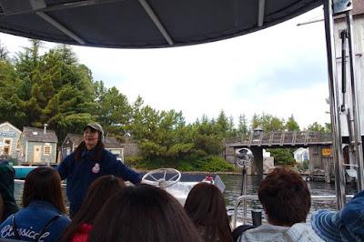Boat ride in Jaws USJ