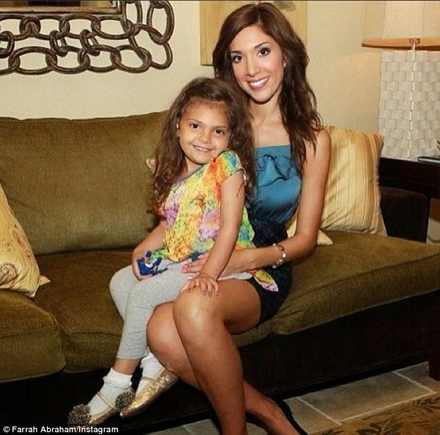 DAT BUZZ 365: Farrah Abraham returns to MTV's 'Teen Mom ...