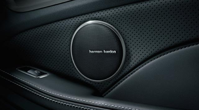 Mercedes CLS 400 sử dụng Hệ thống âm thanh vòm Harman Kardon® Logic 7® 14 loa