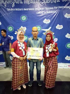 Mahasiswa Farmasi Unhas Raih Juara 2 Ajang TMSC 2018 di Universitas Pontianak