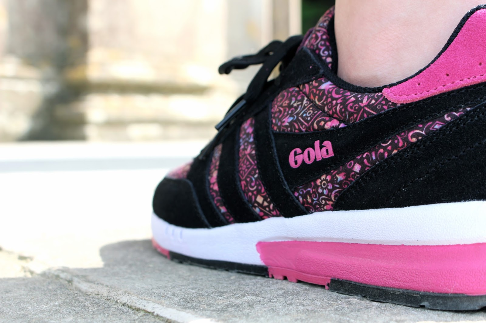 Gola + Liberty Art Fabrics Women's Samurai Liberty LL Trainer