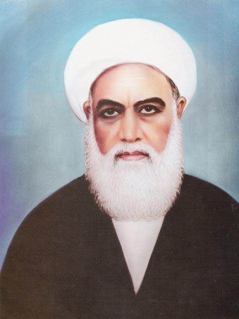 آية الله العظمى المعظم المجاهد المظلوم المولى الميرزا علي الحائري الإحقاقي قدس سره الشريف