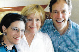 KAREN KRIENDLER NELSON with mezzo-soprano FREDERICA VON STADE and composer JAKE HEGGIE