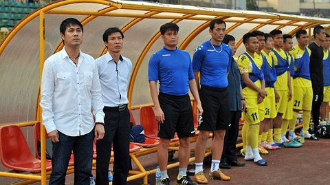 HLV Nguyễn Hữu Thắng từng dẫn dắt thành công SLNA