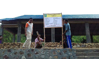 Pembangunan GSG Rampung, Pemdes Jia Lanjutkan dengan Proyek Tanggul