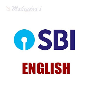 English Language For SBI Clerk Prelims | 12- 05 - 18