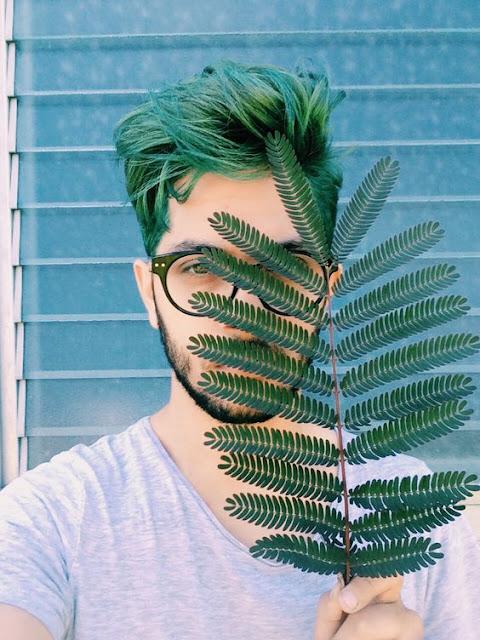 cores de cabelo masculino colorido verde escuro (15) (1)