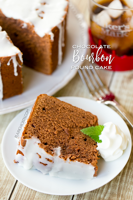 Chocolate Pound Cake With Sour Cream And Pudding