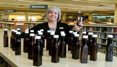 Misteri Munculnya Botol Saus di Perpustakaan Ohio