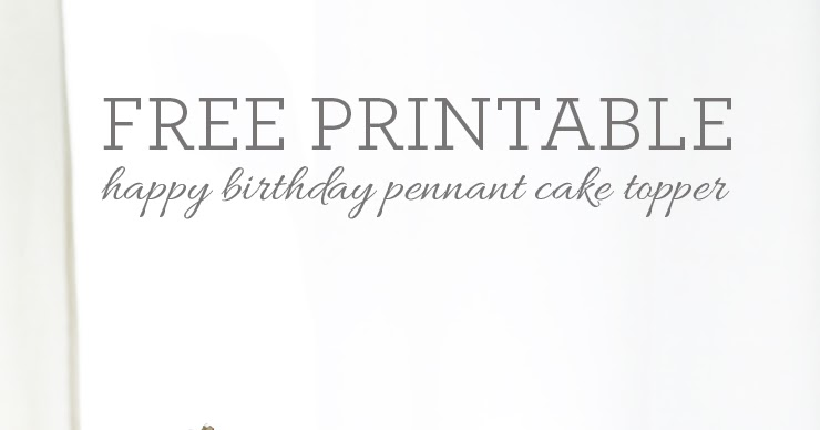 What's Up With The Buells: FREE PRINTABLE: BIRTHDAY CAKE