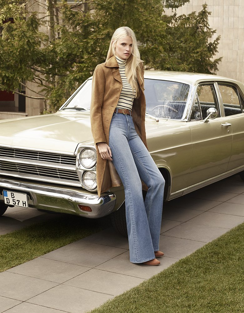 H&M 70s autumn advertorial