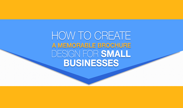 How To Create a Memorable Brochure Design for Small Businesses