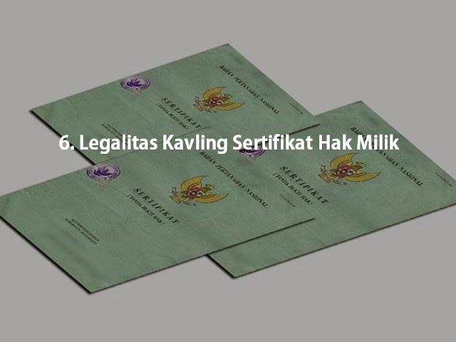 Legalitas Kavling Sertifikan Hak Milik di Kampung Buah Cikalong