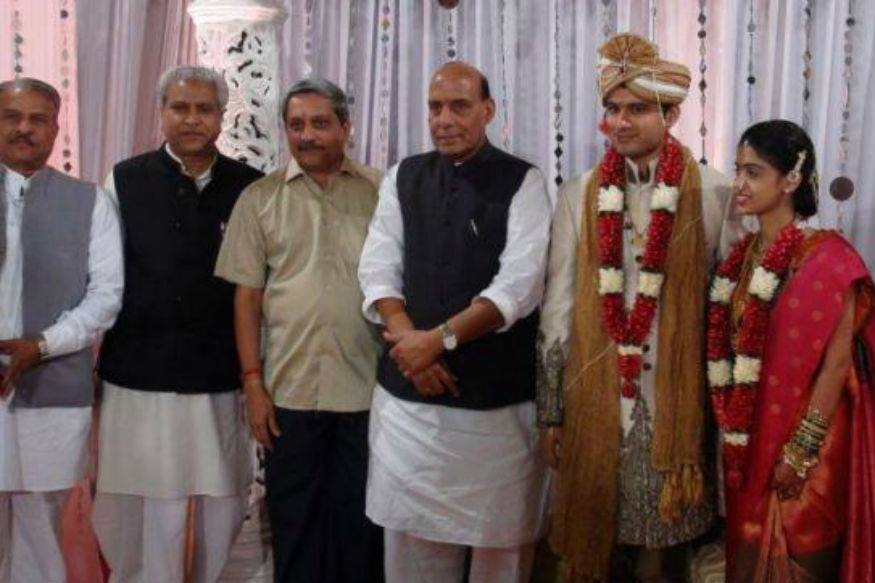 Manohar Parrikar son Abhijit Parrikar Marriage