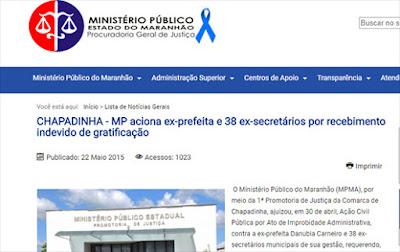 MPMA aciona Danúbia Carneiro, Eduardo Braga e mais 37 pessoas