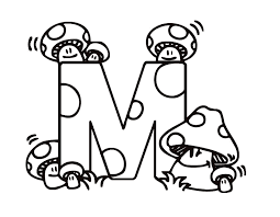 Letter M Coloring Page 10