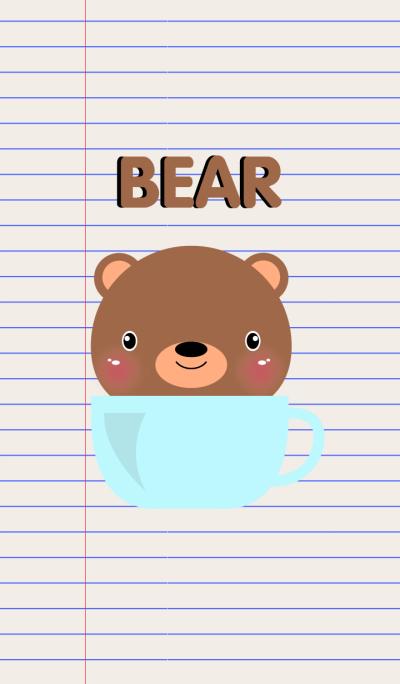 Simple Brown Bear Theme Vr.2